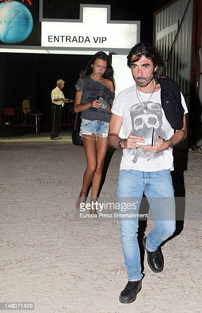 javier Hidalgo attends Rock in Rio Madrid 2012 on July 8 2012 in Arganda del Rey Spain