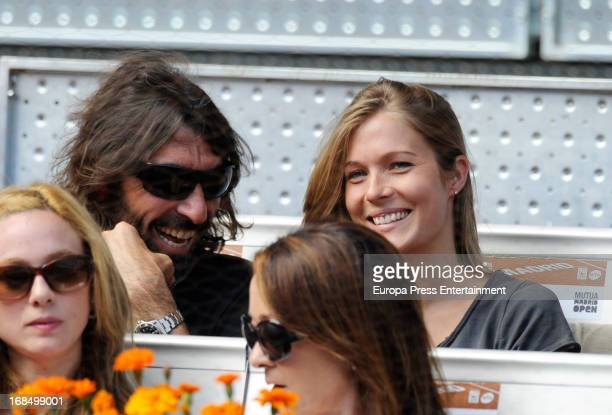 Javier Hidalgo attends the Mutua Madrid Open tennis tournament at La Caja Magica on May 9 2013 in Madrid Spain