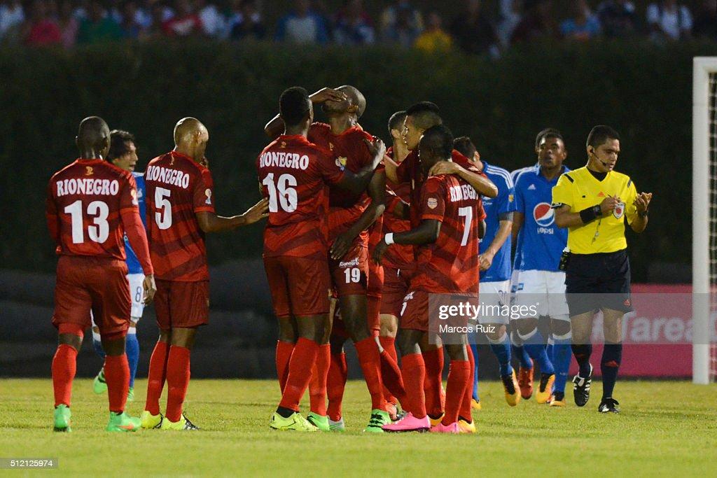 Rionegro Aguilas v Millonarios -  Liga Aguila 2016