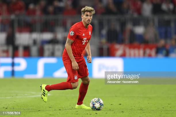 Javier Martinez of FC Bayern Muenchen runs with the ball during the UEFA Champions League group B match between Bayern Muenchen and Crvena Zvezda at...