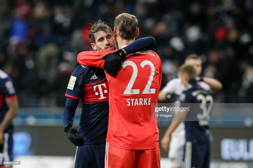 Eintracht Frankfurt v FC Bayern Muenchen - Bundesliga : Foto di attualità