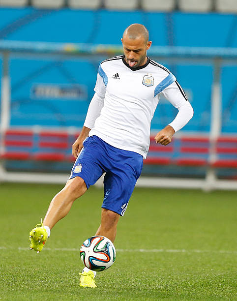 BRA: Argentina Training and Press Conference - 2014 FIFA World Cup Brazil