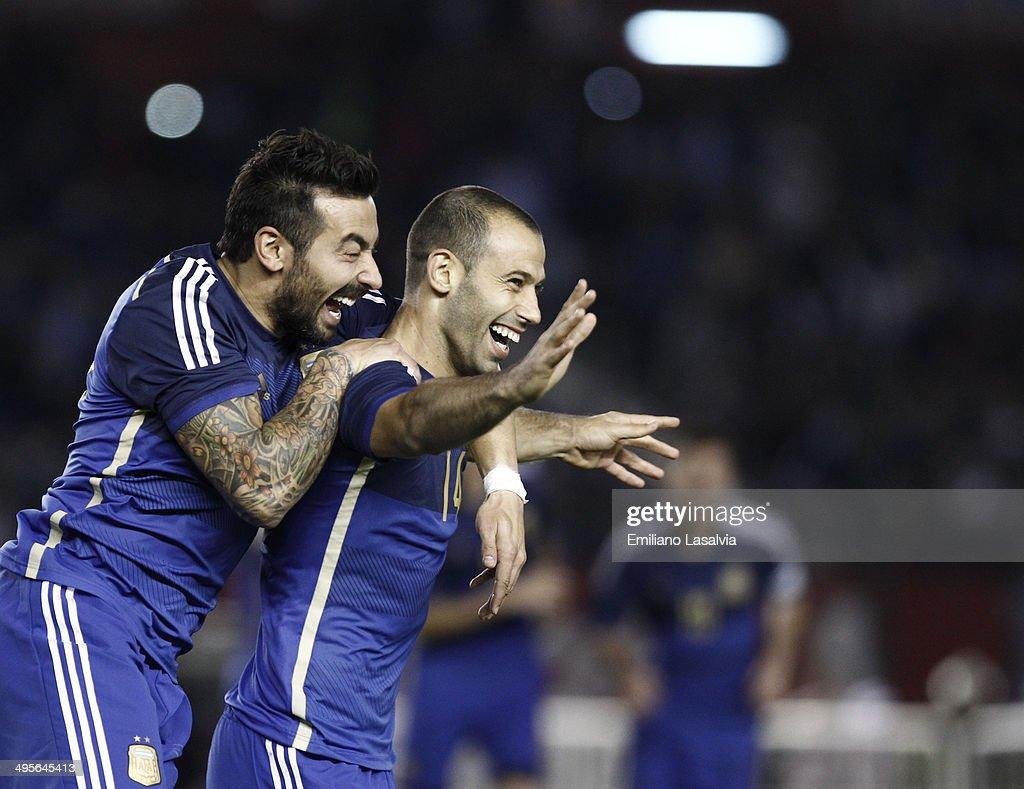 Argentina v Trinidad & Tobago - FIFA Friendly Match : News Photo