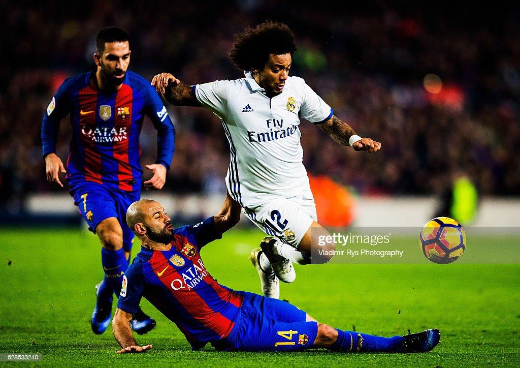 FC Barcelona v Real Madrid CF - La Liga : Nachrichtenfoto