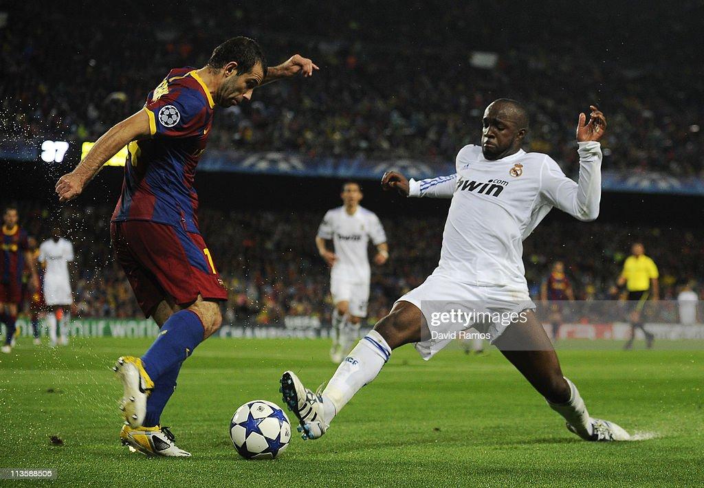 Barcelona v Real Madrid - UEFA Champions League Semi Final : News Photo