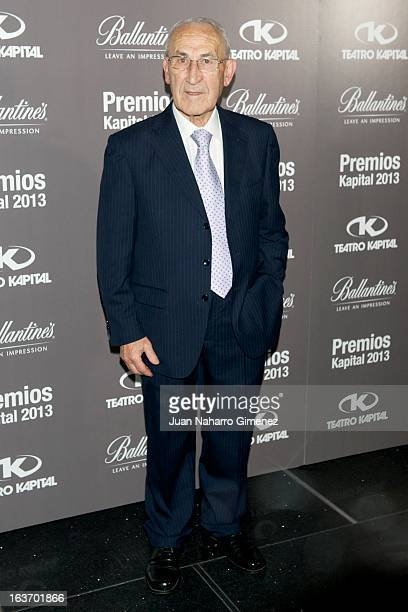 Javier Montini attends the XI Teatro Kapital Awards at Teatro Kapital on March 14 2013 in Madrid Spain