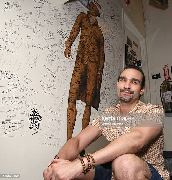 Javier Muñoz who will play the title character in the Tony Award winning musical 'Hamilton' at the Richard Rodgers Theater on June 16, 2016 in New...