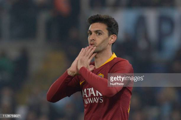 Javier Pastore during the Italian Serie A football match between SS Lazio and AS Roma at the Olympic Stadium in Rome on march 02 2019