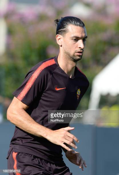 Javier Pastore during training session open to the fans of AS Roma preseason retreat at Stadio Tre Fontane on july 19 2018 in Rome Italy