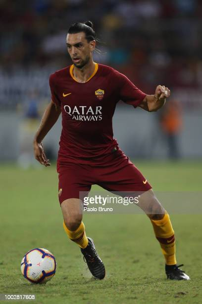 Javier Pastore of AS Roma controls the ball during the PreSeason Friendly match between AS Roma and Avellino at Stadio Benito Stirpe on July 20 2018...
