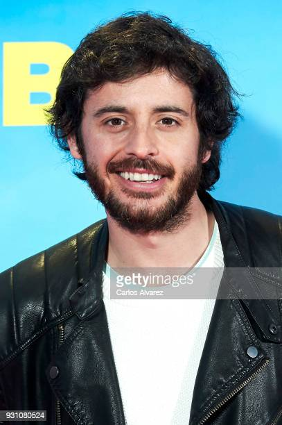 Javier Pereira attends 'La Tribu' premiere at the Capitol cinema on March 12 2018 in Madrid Spain