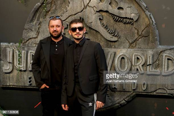 Javier Preciose attends the 'Jurassic World Fallen Kindom' premiere at Wizink Center on May 21 2018 in Madrid Spain
