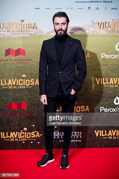 Javier Rey attends 'Villaviciosa De Al Lado' premiere at Capitol Cinema on December 1 2016 in Madrid Spain