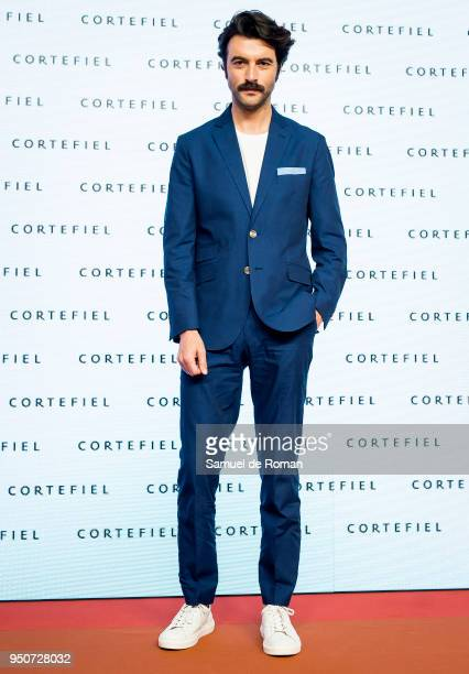 Javier Rey during Cortefiel Spring and Summer 2018 Presentation in Madrid on April 24 2018 in Madrid Spain