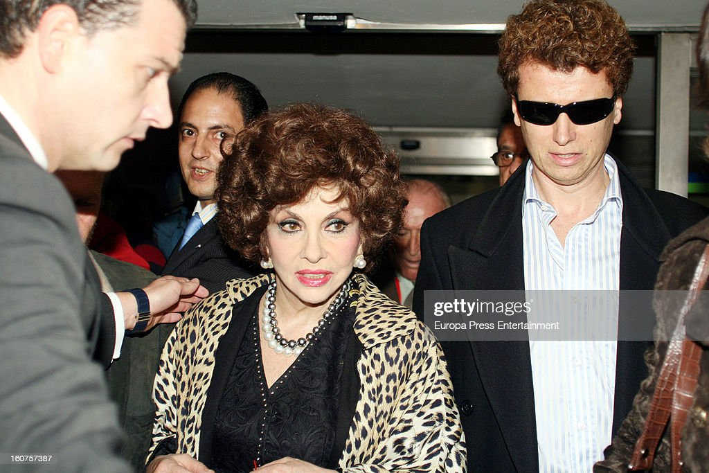 Javier Rigau and Gina Lollobrigida on November 24, 2006 in Sevilla, Spain. Italian actress Gina Lollobrigida, 85 has claimed that 51-year-old, Javier Rigau used a stand-in to marry her without her knowledge in a bid to ensure a share of her £35 million fortune.