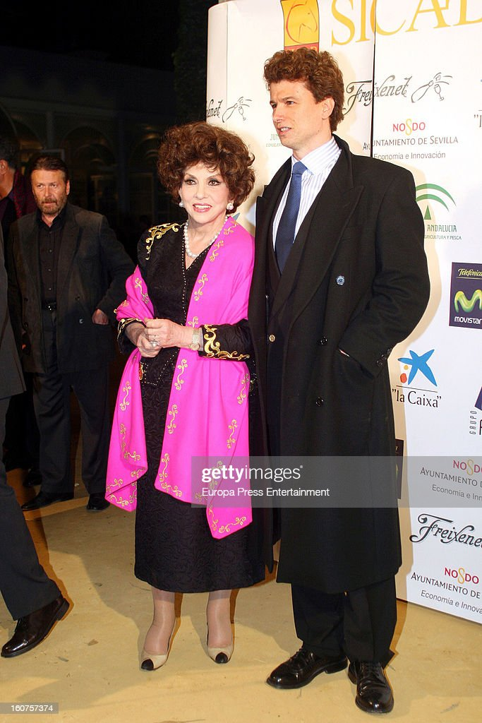 Javier Rigau and Gina Lollobrigida on November 28, 2006 in SICAB in Sevilla, Spain. Italian actress Gina Lollobrigida, 85 has claimed that 51-year-old, Javier Rigau used a stand-in to marry her without her knowledge in a bid to ensure a share of her £35 million fortune.