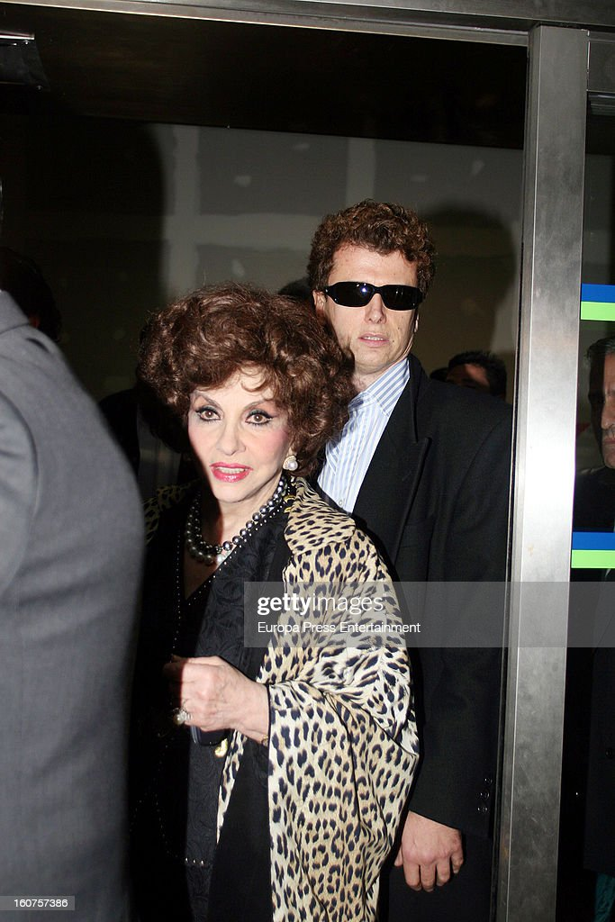 Javier Rigau on November 24, 2006 in Sevilla, Spain. Italian actress Gina Lollobrigida, 85 has claimed that 51-year-old, Javier Rigau used a stand-in to marry her without her knowledge in a bid to ensure a share of her £35 million fortune.