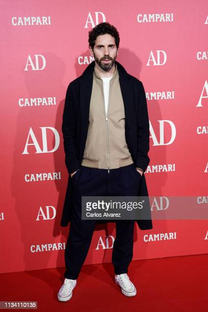 Javier Sanchez attends the 'AD Awards' 2019 at the Royal Theater on March 06