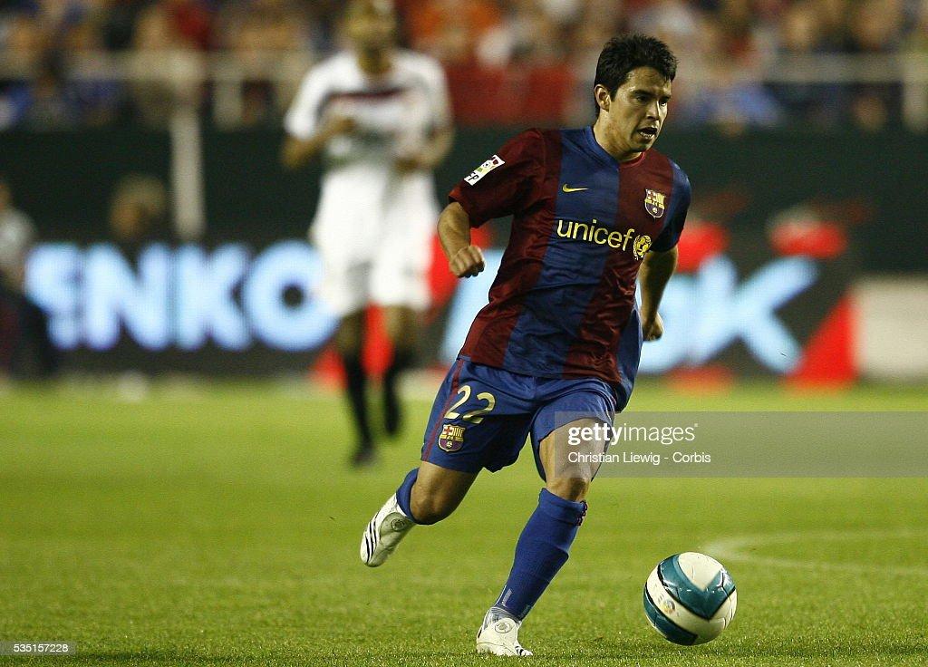 Soccer - La Liga - Sevilla FC vs. FC Barcelona : News Photo