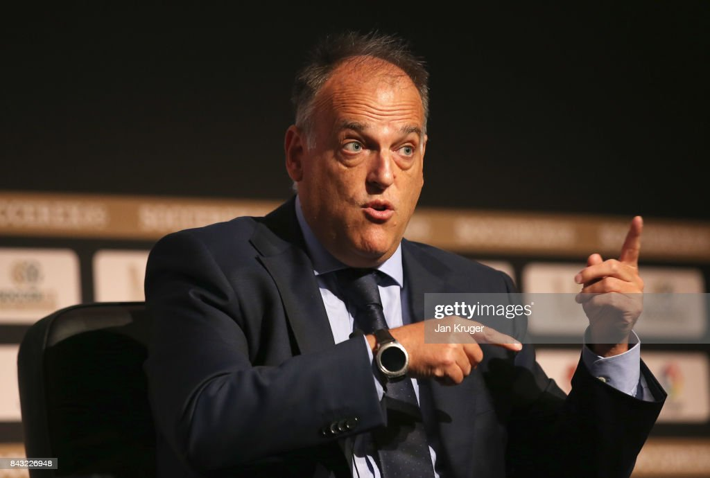 https://media.gettyimages.com/photos/javier-tebas-la-liga-president-talks-during-day-3-of-the-soccerex-picture-id843226948