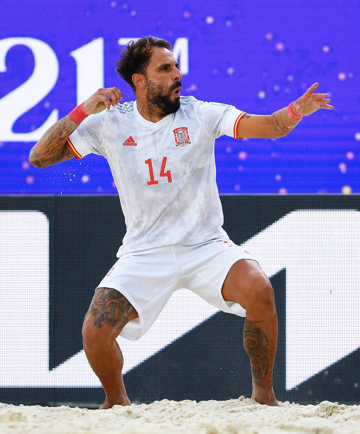 RUS: Football Union Of Russia v Paraguay - FIFA Beach Soccer World Cup 2021