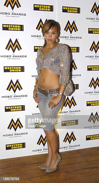 Javine during 2006 MOBO Awards Nominations Outside Arrivals at Proud Gallery in London Great Britain