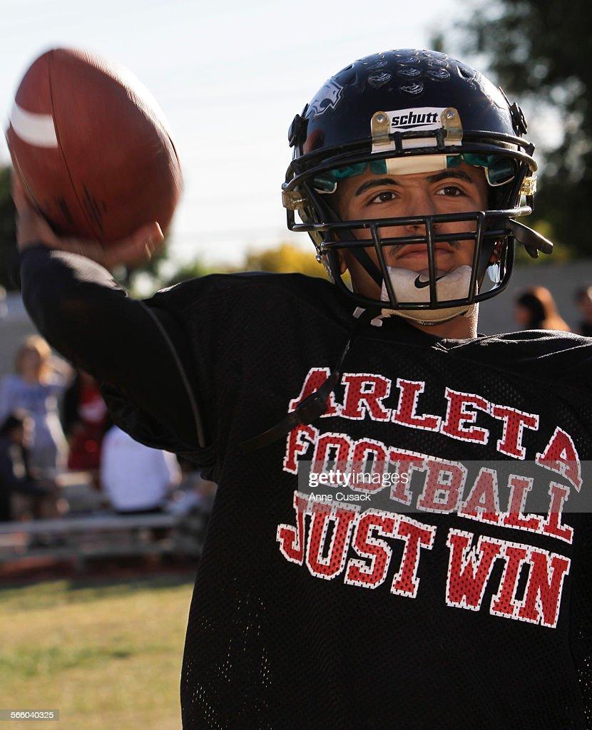 Javy Lopez Is Quarterback At Arleta High School In Arleta On