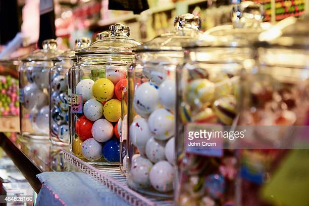 Jaw breakers in a candy store
