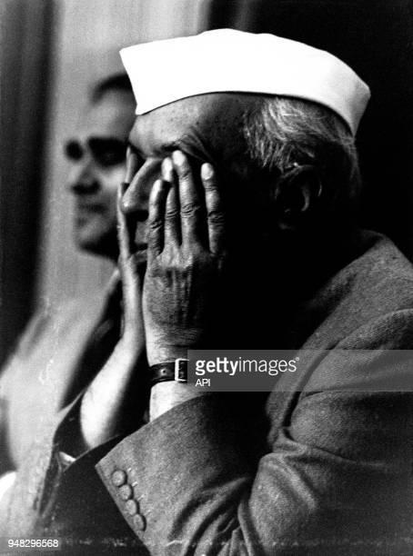 Jawaharlal Nehru premier ministre de l'Inde entre 1947 et 1964 en Inde