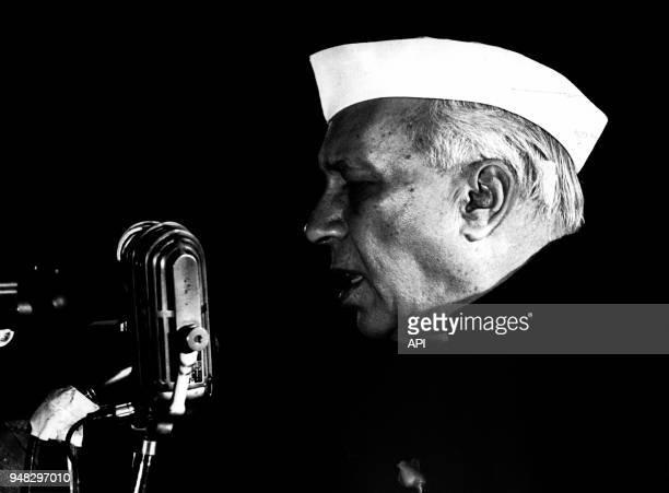 Jawaharlal Nehru premier ministre de l'Inde entre 1947 et 1964 Inde