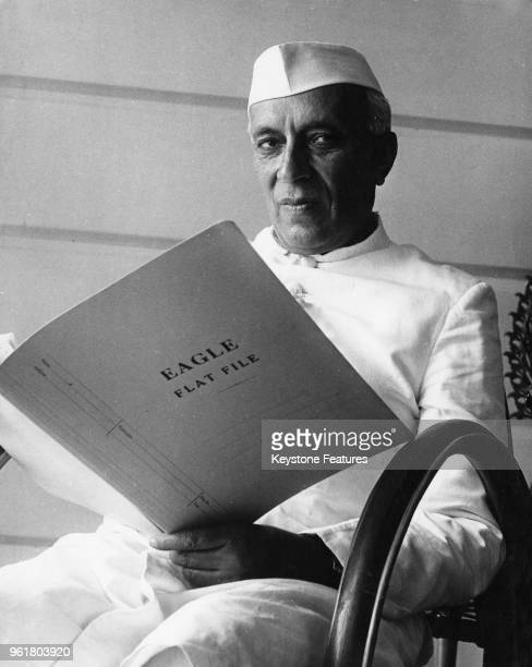 Jawaharlal Nehru Prime Minister of India 1958