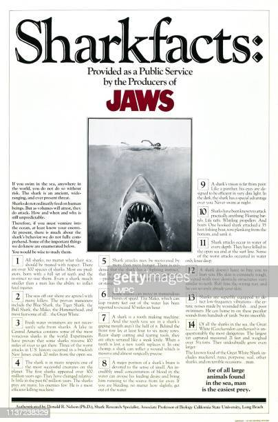 Jaws poster poster art 1975