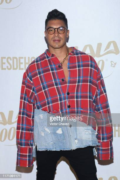 Jawy Mendez attends the LaLa 100 recognize the new heroes golden carpet show at Foro Hipodromo on September 26 2019 in Mexico City Mexico