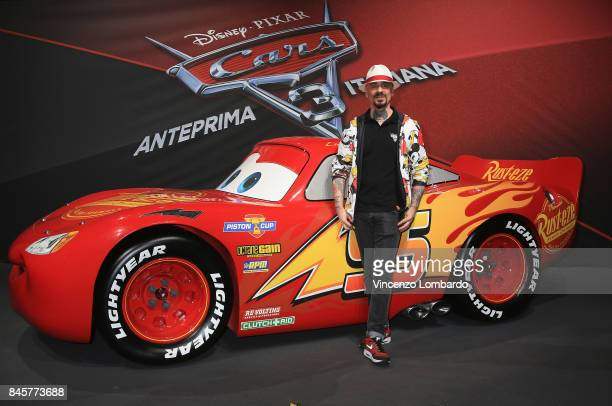 Ax attends Cars 3 photocall in Milan on September 11 2017 in Milan Italy