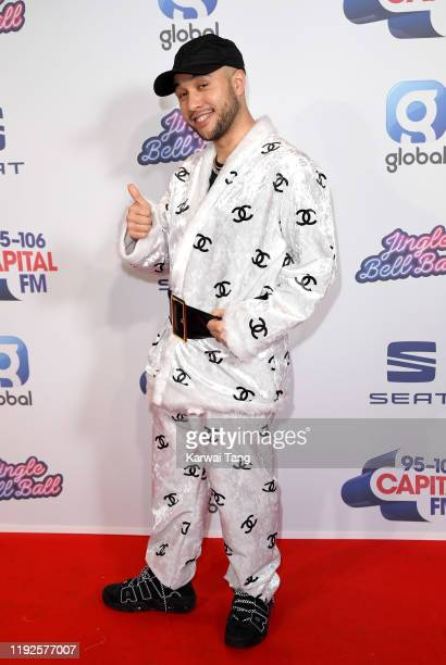 Jax Jones attends Capital's Jingle Bell Ball 2019 at The O2 Arena on December 07 2019 in London England