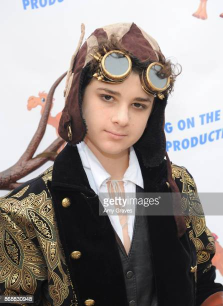 Jax Malcolm attends the Annual Halloween Party Hosted by Piper Madison and Skylar Fayre on October 31 2017 in Los Angeles California