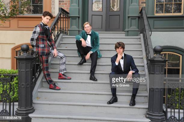 Jax Malcolm Connor Dean and Chase Mangum attend the 2019 Young Entertainer Awards at Steven J Ross Theatre on the Warner Bros Lot on April 7 2019 in...