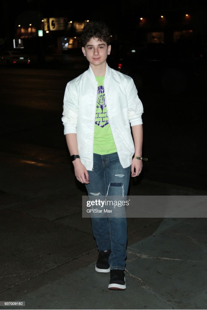 Celebrity Sightings In Los Angeles - March 22, 2018 : News Photo