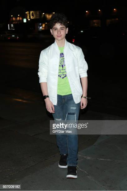 Jax Malcolm is seen on March 22 2018 in Los Angeles CA