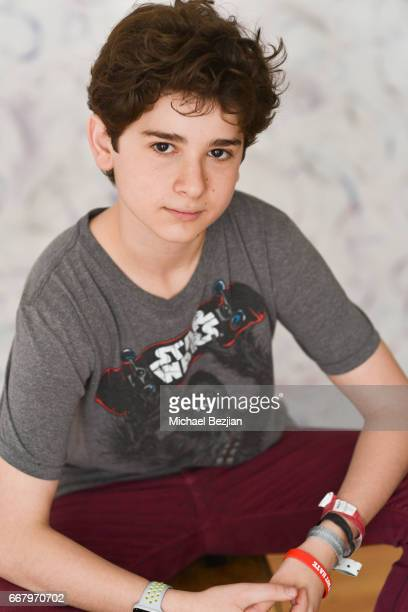 Jax Malcolm poses for portrait at The Artists Project on April 12 2017 in Los Angeles California