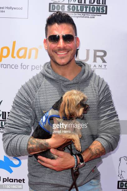 Jax Taylor attends 4th Annual World Dog Day at West Hollywood Park on May 18, 2019 in West Hollywood, California.