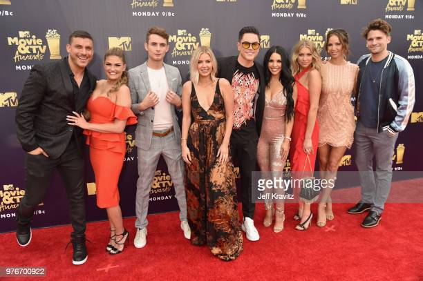 Jax Taylor Brittany Cartwright James Kennedy Ariana Madix Tom Sandoval Scheana Marie Stassi Schroeder Kristen Doute and Tom Schwartz of Vanderpump...
