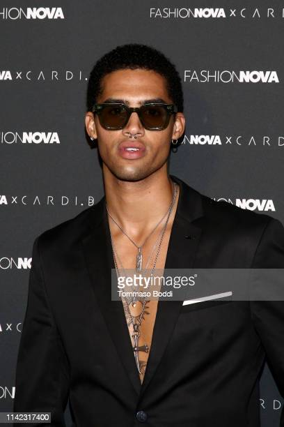 Jaxon Rose arrives as Fashion Nova Presents Party With Cardi at Hollywood Palladium on May 8 2019 in Los Angeles California