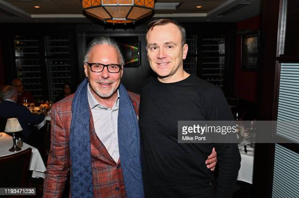Jay Abraham and Sean Callagy attend an UNBLINDED Dinner Hosted By Jay Abraham Sean Callagy And Shannon O'Donnell on January 11 2020 in Paramus New...