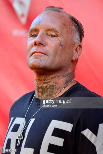 Jay Adams arrives at the 9th Annual MusiCares MAP Fund Benefit Concert at Club Nokia on May 30 2013 in Los Angeles California