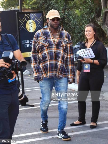 Jay Ajayi is seen on July 12 2018 in Los Angeles California