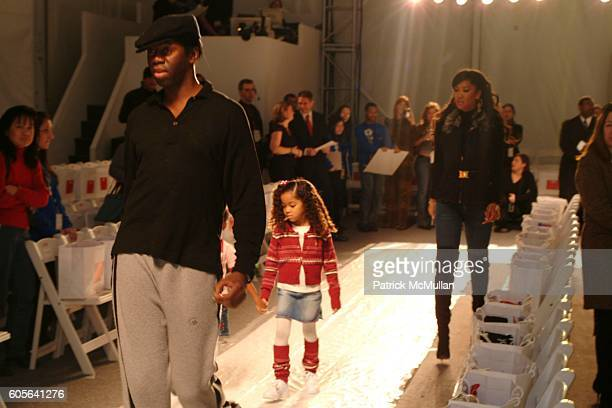 Jay Alexander Ming Lee Simons and Kimora Lee Simmons attend Child Magazine Fall 2006 Fashion Show at The Atelier at Bryant Park on February 6 2006 in...