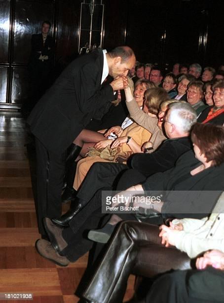 Jay Alexander Musikgruppe 'Marshall Alexander' Publikum Auftakt der Deutschlandtournee Motto 'Live and Unplugged 2003 The way you touch my soul'...