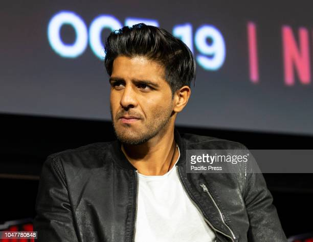 Jay Ali attends Marvel's Daredevil panel during New York Comic Con at Hulu Theater at Madison Square Garden