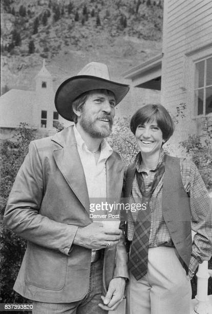 Jay Amon's leather jacket and hat are from the Buckskin Shop Pattie Dunn sports the 'Annie Hall' look Credit Denver Post